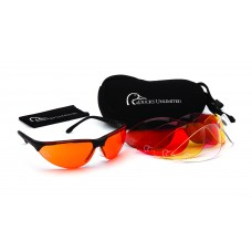 Shooting Glass with Interchangeable Lenses
