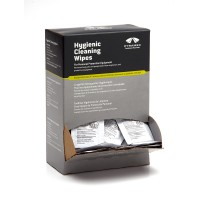 100 Individually Packaged Alcohol Hygienic Wipes