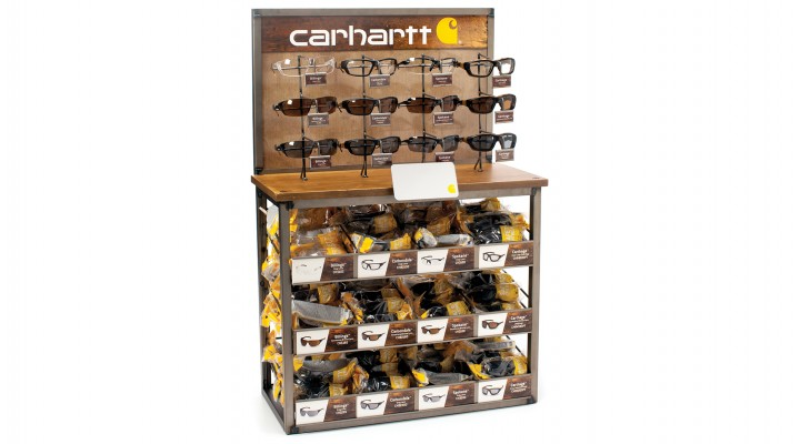 Carhartt 144 Unit Bulk Display