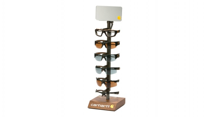 Carhartt 6 Unit Stationary Display