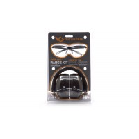 PM8010 Earmuff with Ever-Lite Black Frame and Clear Lens