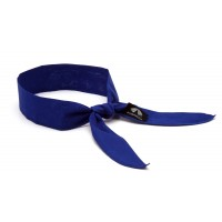 Cooling Beaded Bandana - Royal Blue  - 12 pack