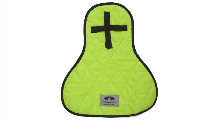 Cooling Hard Hat Pad & Neck Shade Lime