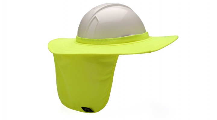 Hard Hat Brim with Neck Shade