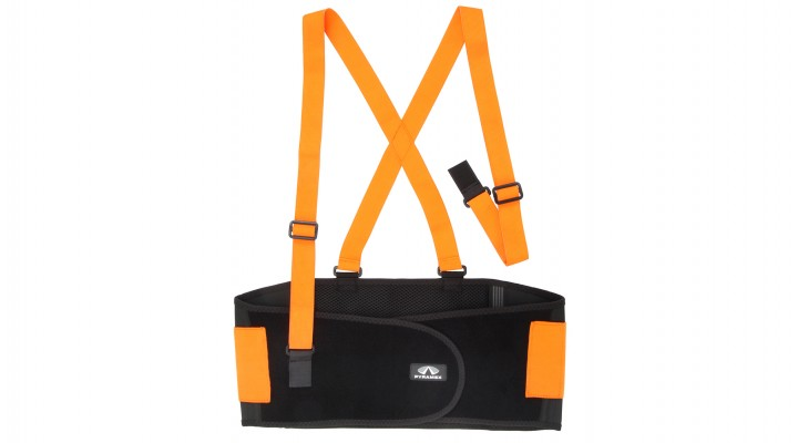 Hi-Vis Back Support – Standard Weight