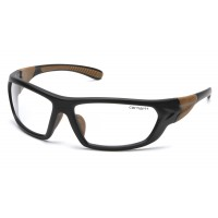 Clear Anti-Fog Lens with Black/Tan Frame (polybag)