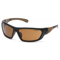 Sandstone Bronze Polarized Lens with Black Frame (polybag)