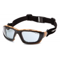 Gray Anti-Fog Lens with Black/Tan Frame (clamshell)