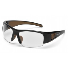Clear Anti-Fog Lens with Black Frame (clam shell)
