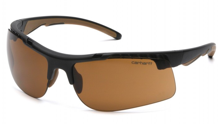 Sandstone Bronze Anti-Fog Lens with Black/Tan Frame (capture clam)