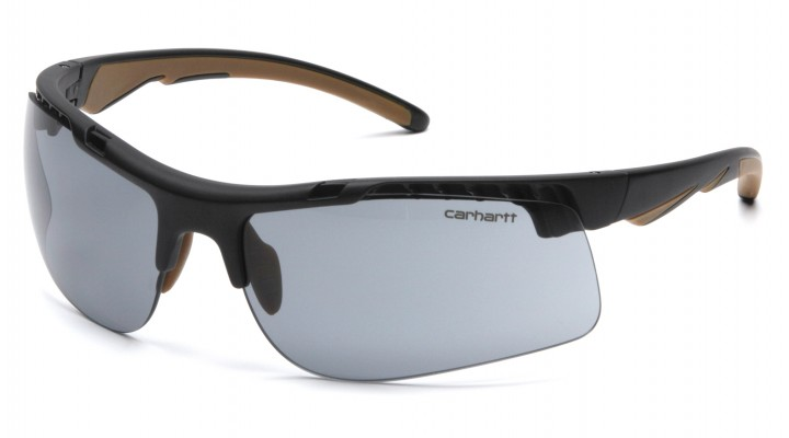 Gray Anti-Fog Lens with Black/Tan Frame (capture clam)