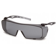 Gray H2X Anti-Fog Lens with Gray Temples