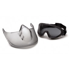 Gray H2X Anti-Fog Lens with Face Shield
