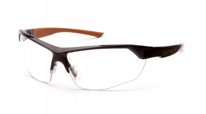 Clear +2.0 Reader Anti-fog Lens with Black and Tan Frame