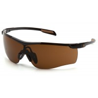 Sandstone Bronze Anti-Fog Lens with Black Frame (polybag)