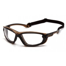 Clear H2MAX Anti-Fog Lens with Black and Tan Frame (polybag)