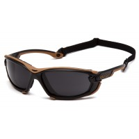 Gray H2MAX Anti-Fog Lens with Black and Tan Frame (polybag)