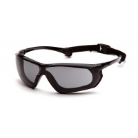 Gray H2X Anti-Fog Lens with Black and Gray Frame