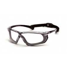 Indoor/Outdoor Mirror Anti-Fog Lens with Black and Gray Frame
