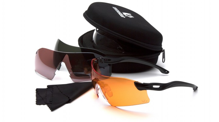 Interchangeable Lenses with Black Temples