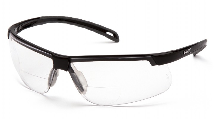 Clear +1.5 Reader Lens with Black Frame