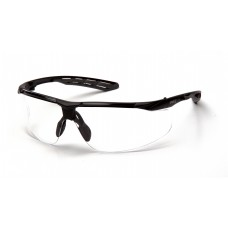 Clear H2MAX Anti-Fog Lens with Black and Gray Frame