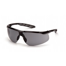 Gray H2MAX Anti-Fog Lens with Black and Gray Frame