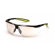 Indoor/Outdoor Mirror Lens with Black and Lime Frame