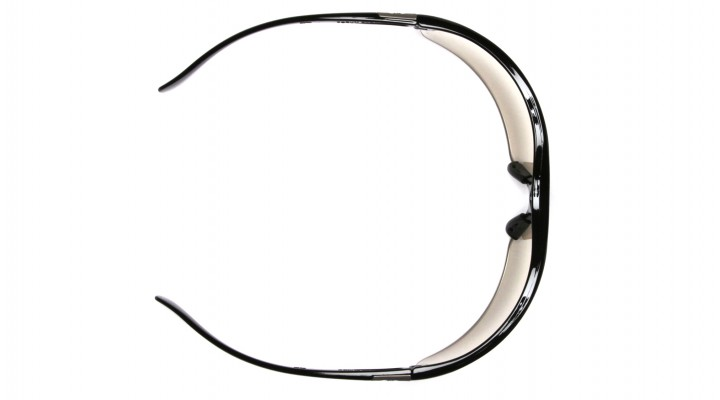 dd65bf80fb16 Silver Mirror Lens with Black Frame - Pyramex Safety