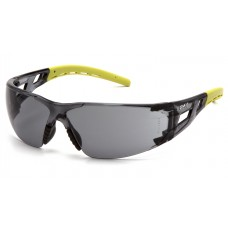 Gray Lens with Lime Temples