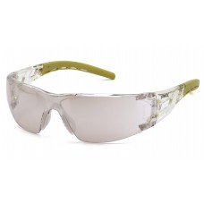 Indoor/Outdoor Mirror Lens with Lime Temples