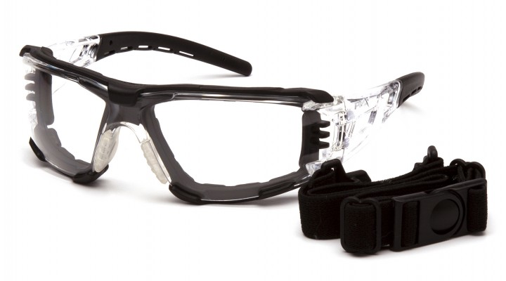 Clear H2MAX Anti-Fog Lens with Clear Temples