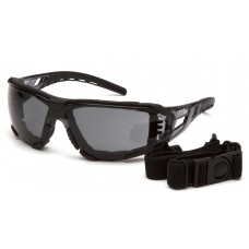Gray H2MAX Anti-Fog Lens with Gray Temples