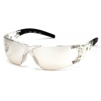 Indoor/Outdoor Mirror Lens with Indoor/Outdoor Mirror Temples