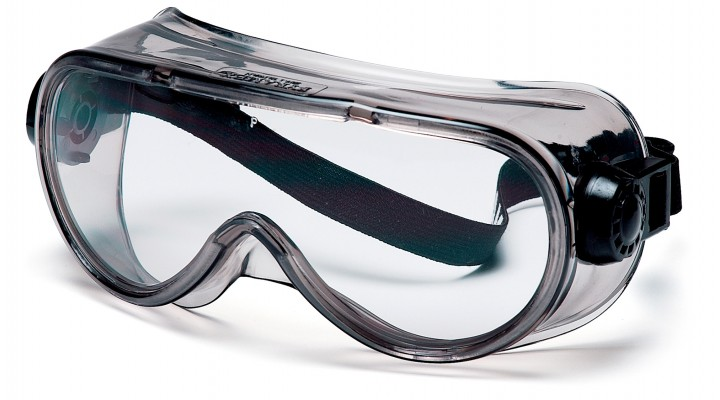 Clear Top Shelf Chemical Splash Goggle