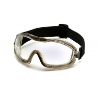 Low Profile Goggle with Clear Anti-Fog Lens