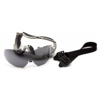 Gray H2X Anti-Fog Lens with Gray Body and Adjustable Neoprene Strap