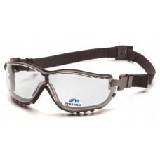 Clear +2.0 H2X Anti-Fog Reader Lens with Black Strap/Temples