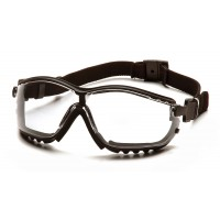 Clear H2MAX Lens with Black Strap/Temples