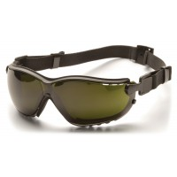 5.0 IR Filter H2X Anti-Fog Lens with Black Strap/Temples