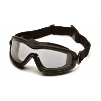 Clear H2X Anti-Fog Dual Lens with Black Strap