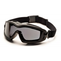 Gray H2X Anti-Fog Dual Lens with Black Strap