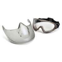 Clear H2X Anti-Fog Lens with Face Shield