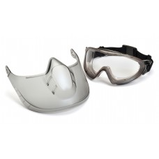 Clear Anti-Fog Lens with Face Shield