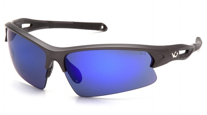 Ice Blue Mirror Lens with Gun Metal/Black Frame