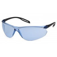 Infinity Blue Lens with Black Temples