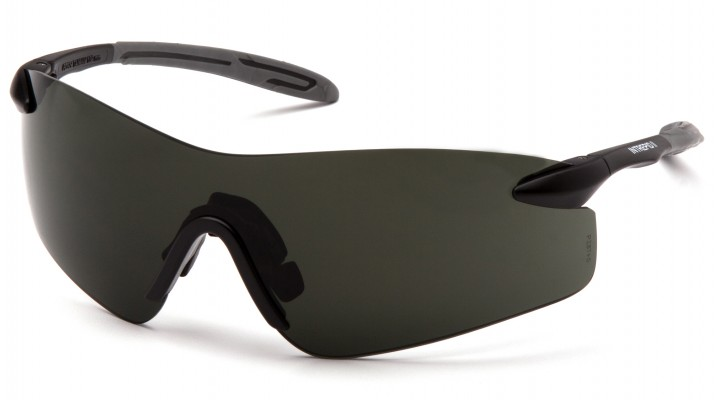 Smoke Green Lens with Black Temples