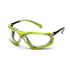 Clear H2MAX Anti-Fog Lens with Black/Lime Frame