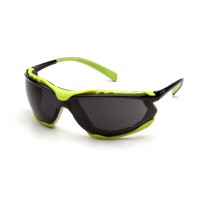 Dark Gray H2MAX Anti-Fog Lens with Black/Lime Frame