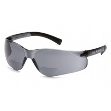 Gray +2.5 Lens with Gray Temples